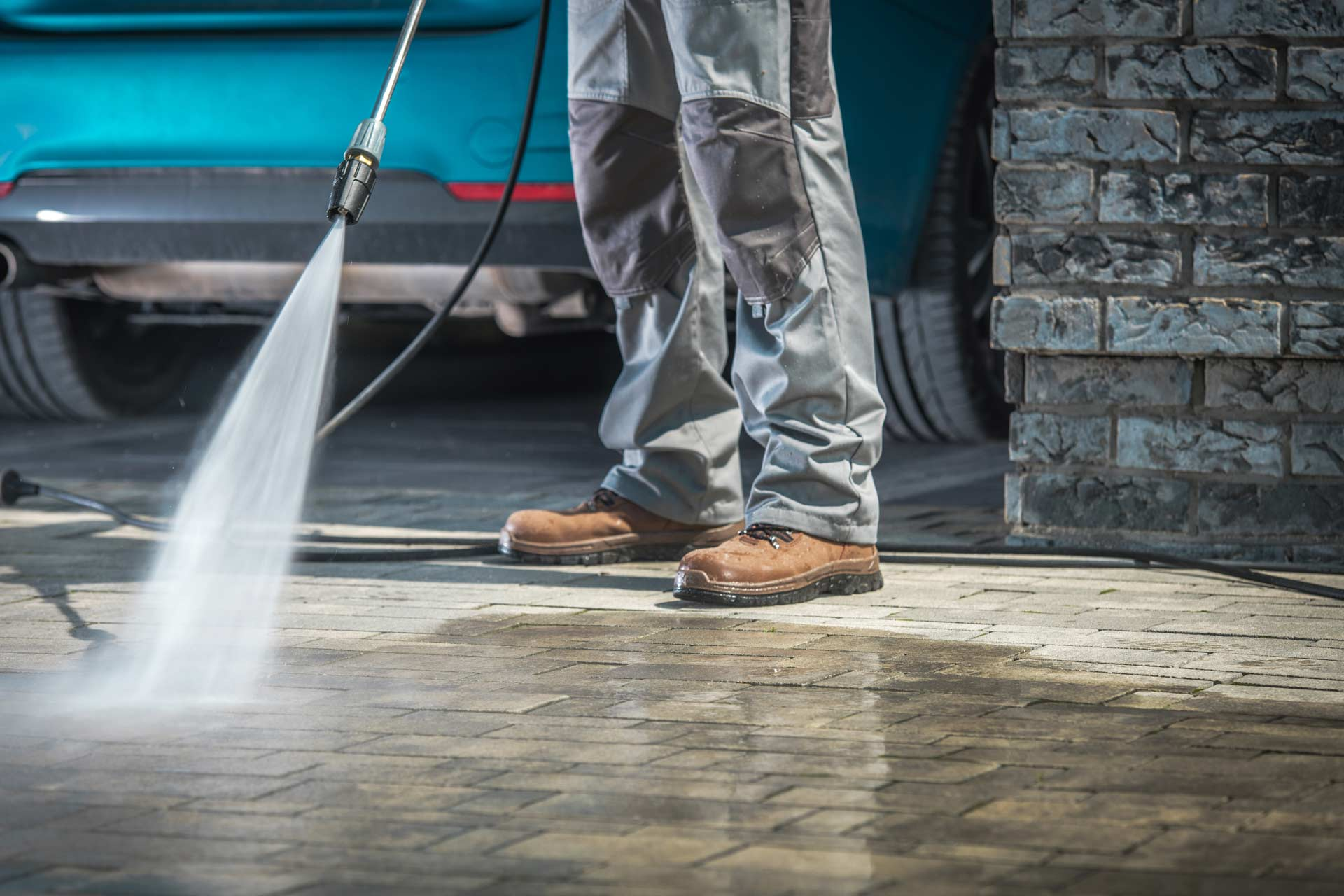 How do you take care of a new concrete driveway?